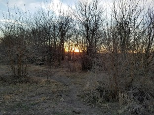 Sunset/huntset in Republican County.